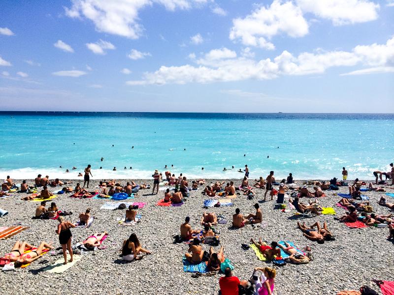 Travel Guide Nice France Beach