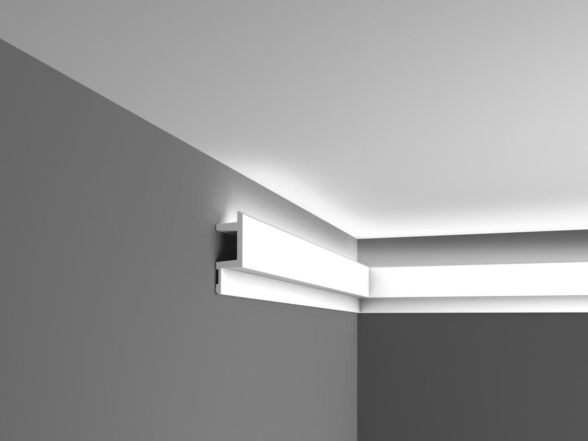 Corniche Eclairage Led Corniche éclairage Indirect C383 Plafond Luxxus Orac Decor