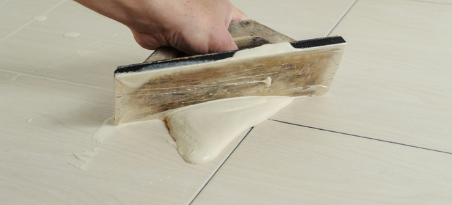 Grouting a Ceramic Tile Floor