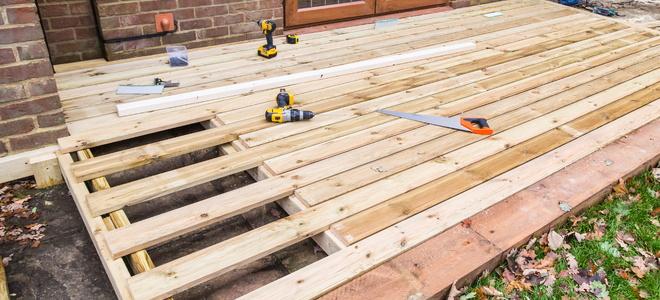 Plywood Decking A Good Alternative Doityourselfcom