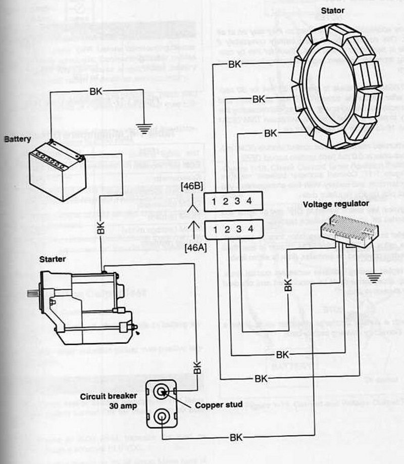 Harley Stator Wiring Diagram - Wiring Diagram Online