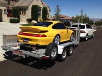 Tilt trailer with tire rack? - Rennlist - Porsche ...