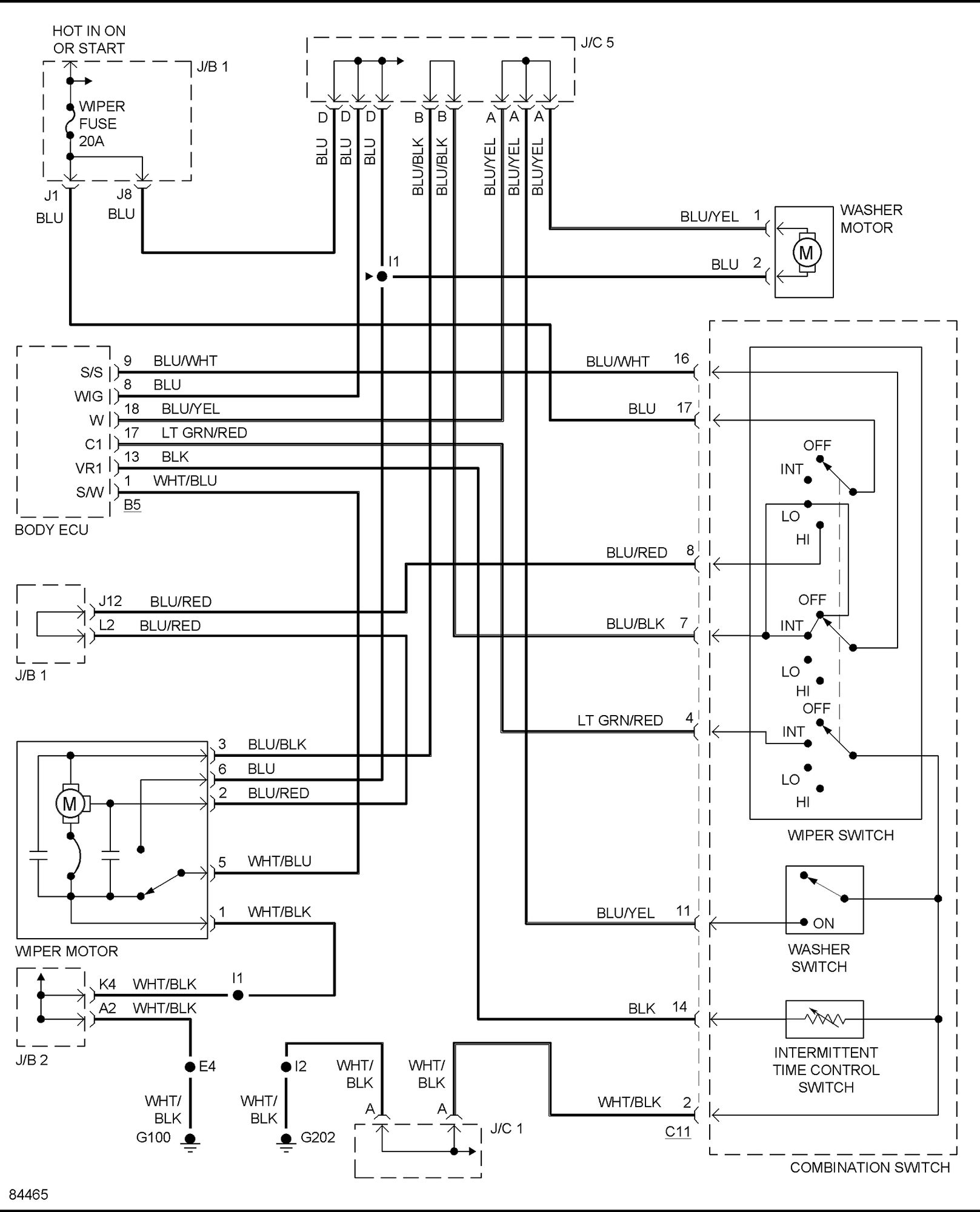 electrical wiring diagram 2001 yzf r6