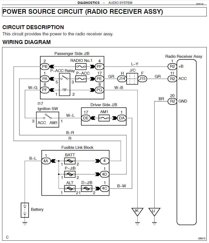 Lexus 430 Wiring Diagram Wiring Schematic Diagram