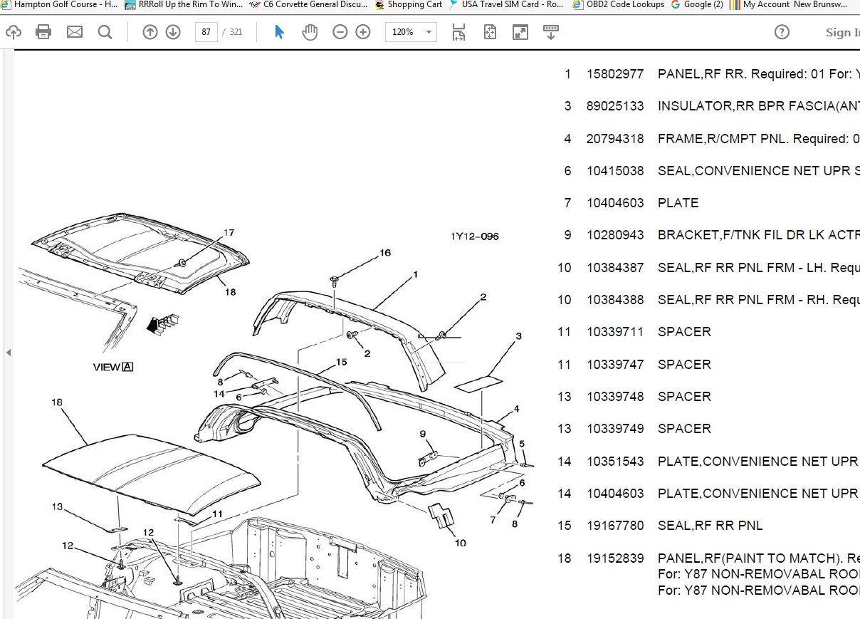 c6 corvette schematic