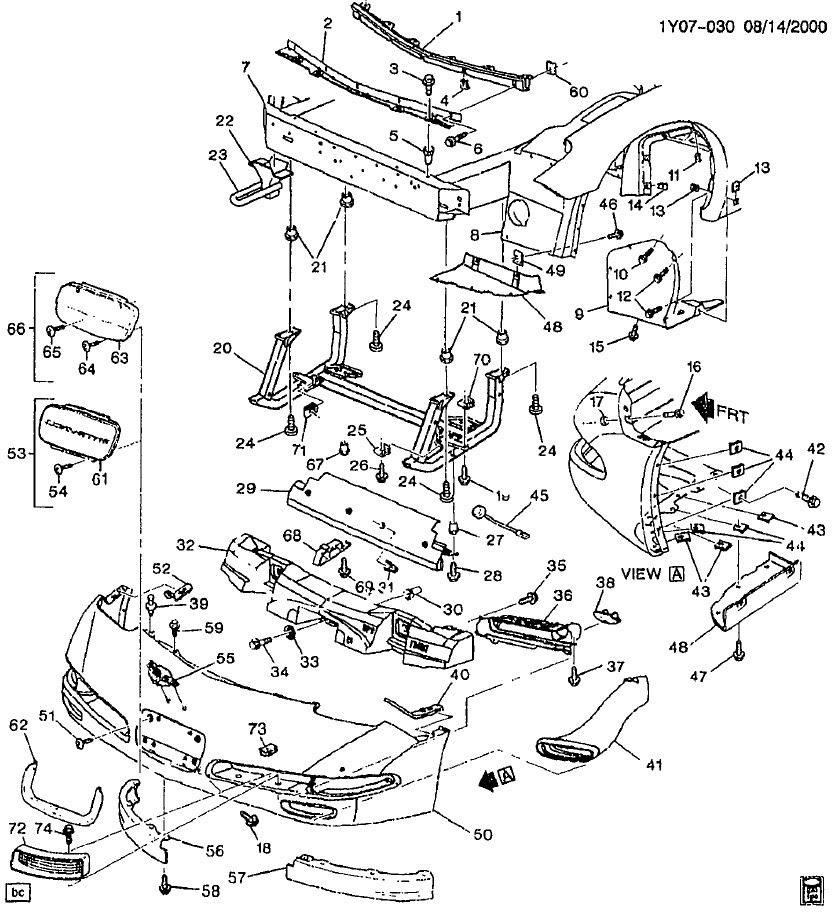 c6 parts diagram