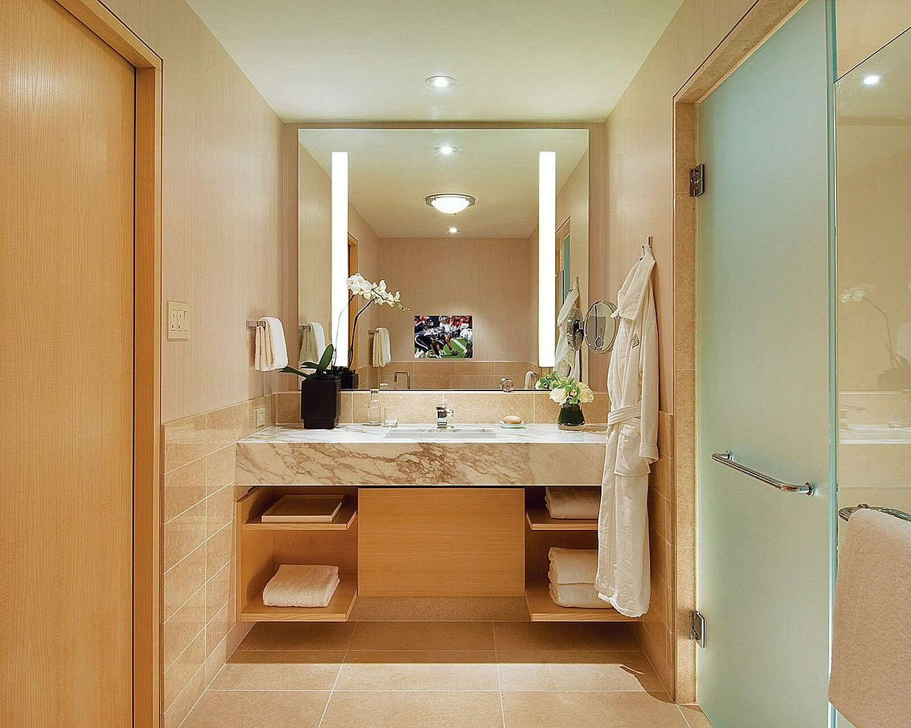 Bathroom Mirrors Seattle Four Seasons Hotel Seattle Expert Review Fodors Travel
