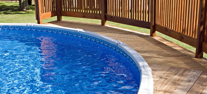 How To Clean An Above Ground Pool Liner Doityourselfcom