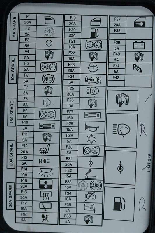 Mini Cooper 2001 to 2006 Fuse Box Diagram - Northamericanmotoring
