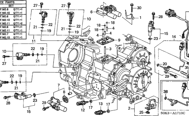 3k243 1997 Acura Cl 3 0 Engine Diagram