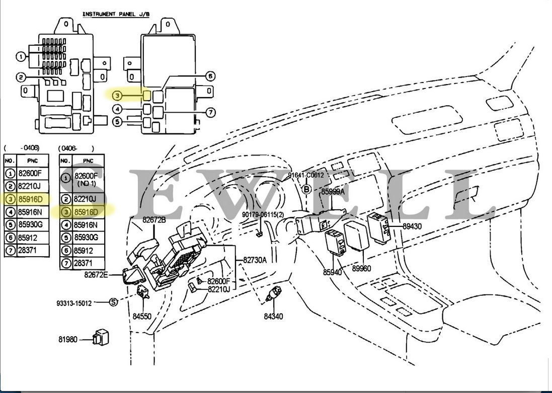 lexus fog lights wiring diagram
