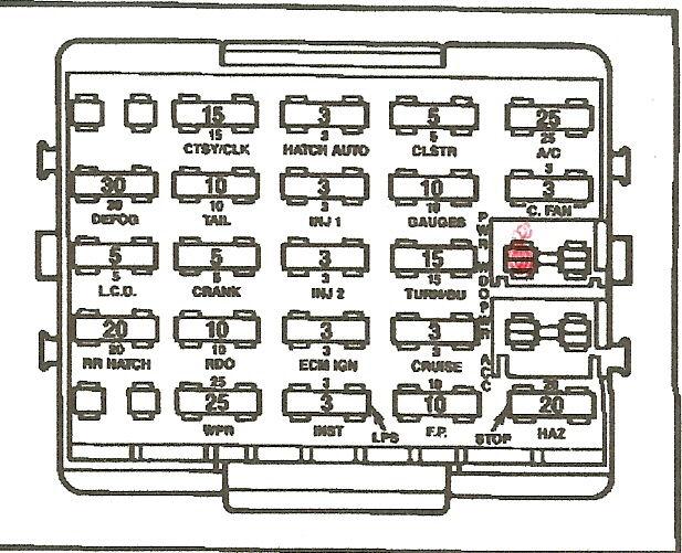 1984 bmw 318i fuse box diagram