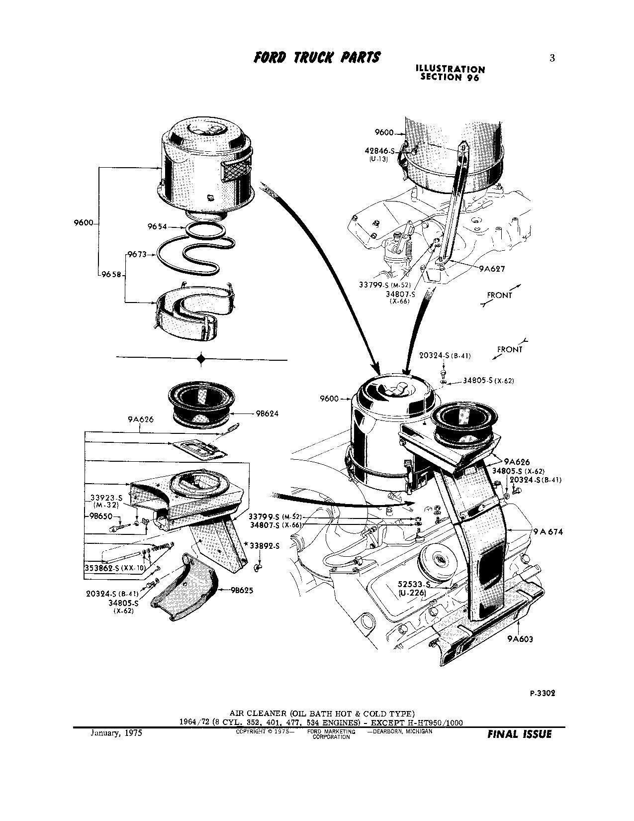 1961 ford dump truck