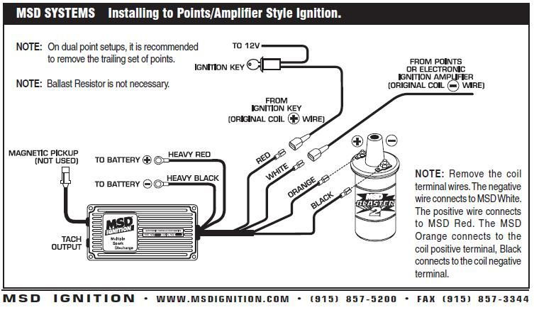 msd wiring ford inline 6 msd complete ignition kit digital al