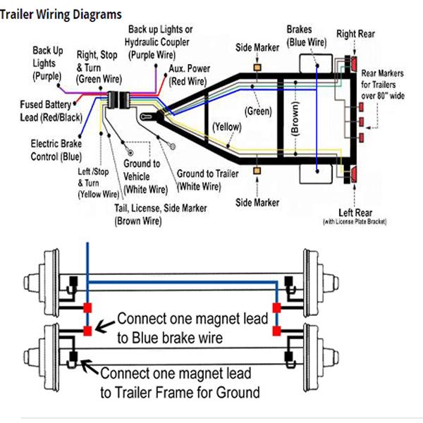 2001 dodge durango trailer wiring