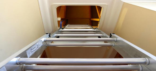 How To Seal Your Attic Access Door Doityourselfcom
