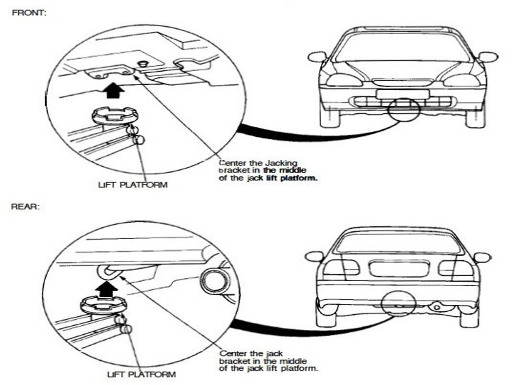 1995 honda civic tow hook diagram