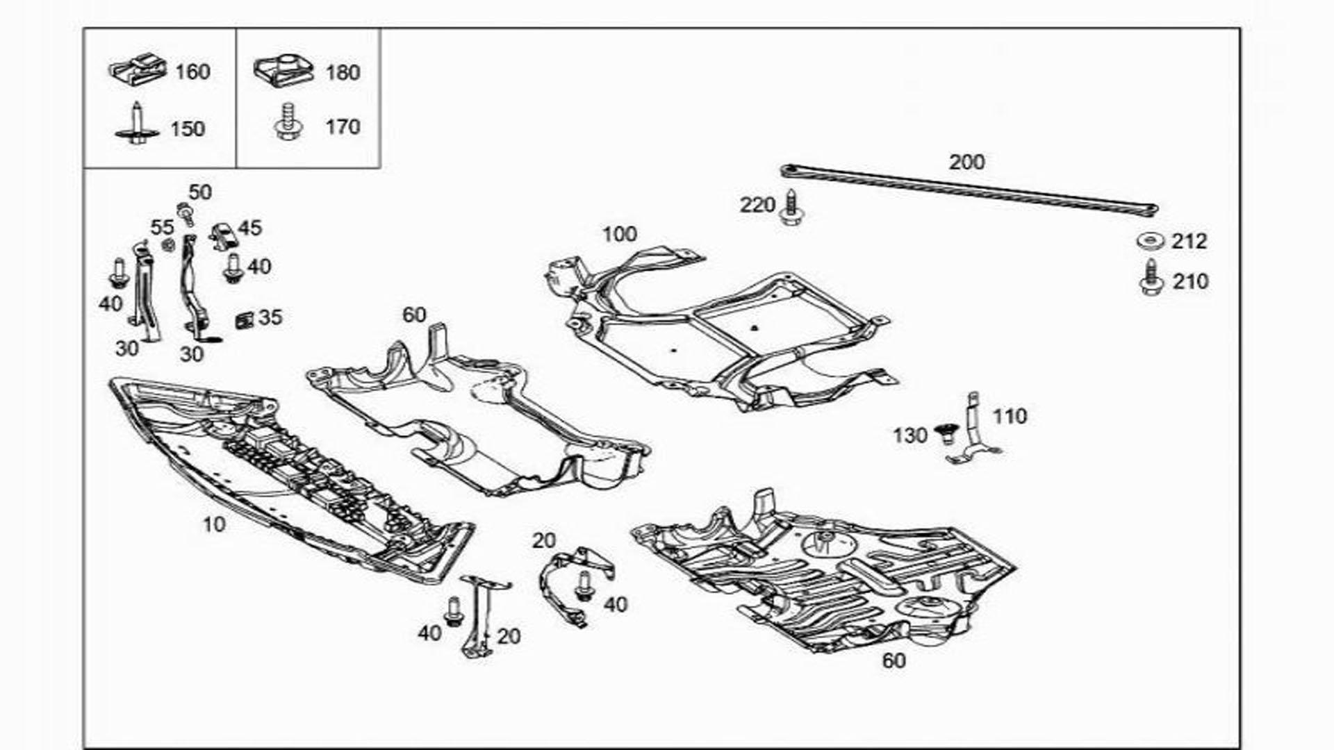 mercedes e class engine diagram