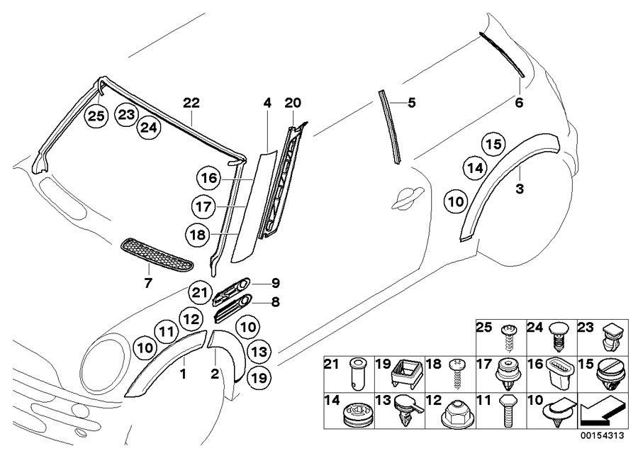 bmw mini one engine diagram
