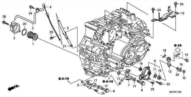 2005 acura tl engine manual