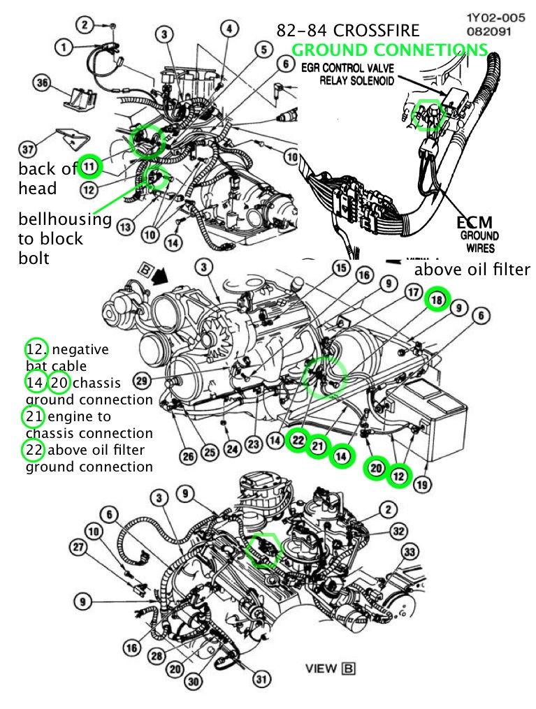 84 corvette wiring harness
