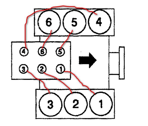 96 toyota 4runner spark plug wire diagram