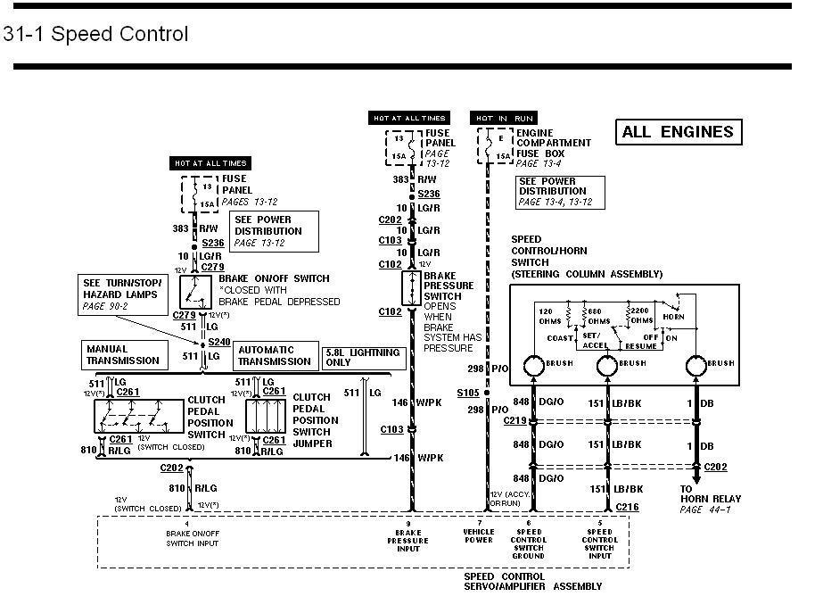 ford f 150 cruise control wiring diagram