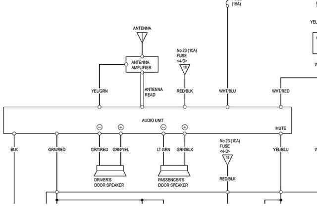 Stock Speaker Wiring Diagram - S2KI Honda S2000 Forums