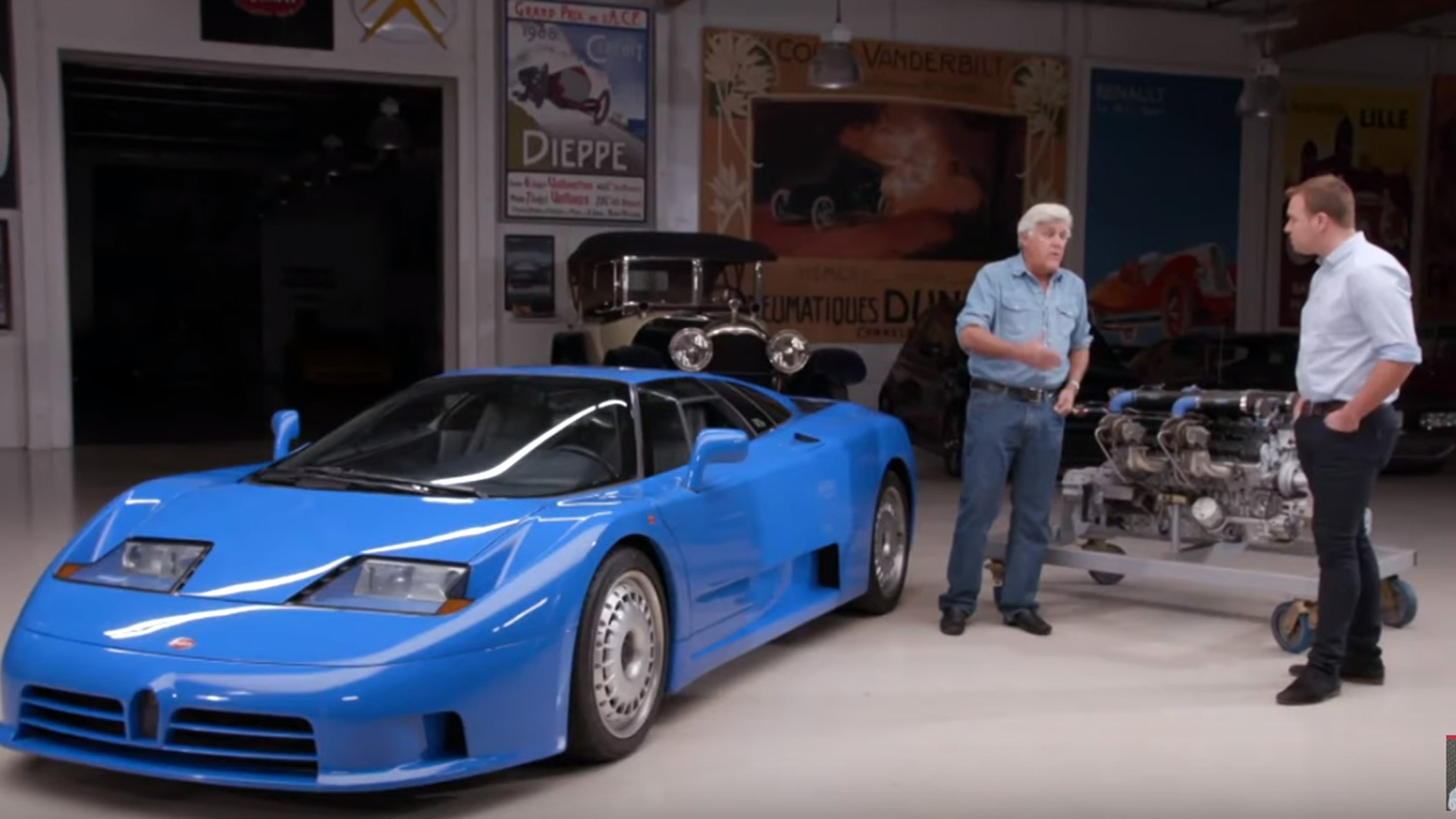 Garage Volkswagen Dieppe Before The Veyron There Was The Eb110 Jay Leno Looks Back At