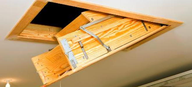 Dachbodenluke Mit Treppe How To Install An Attic Hatch And Ladder - Part 1