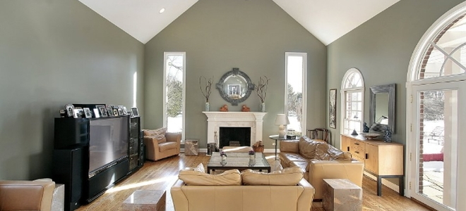 Constructing A Vaulted Ceiling | Doityourself.Com