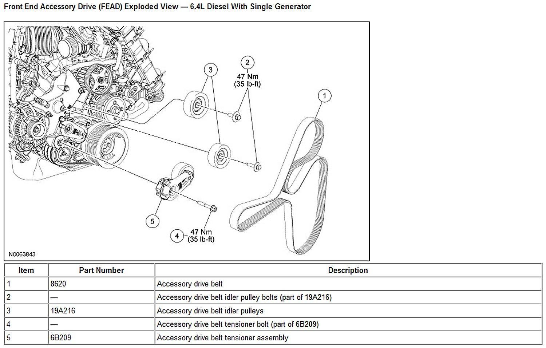 ford f 350 6 0l engine diagram