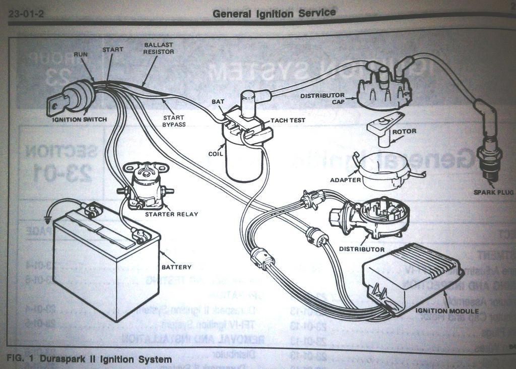 89 Ford Ignition Module Wiring Diagram Electronic Schematics