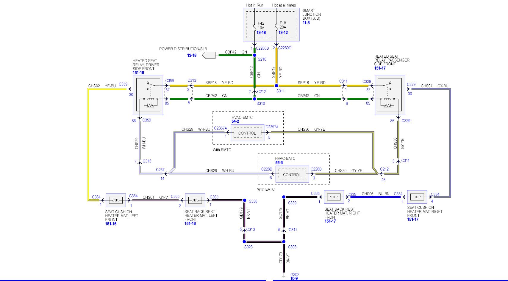 memory seat wiring diagram 2008 f250