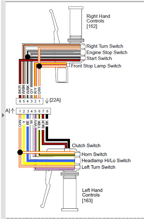 2008 road king wiring diagram