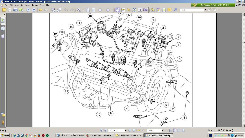 jaguar s type 2.7 diesel engine diagram
