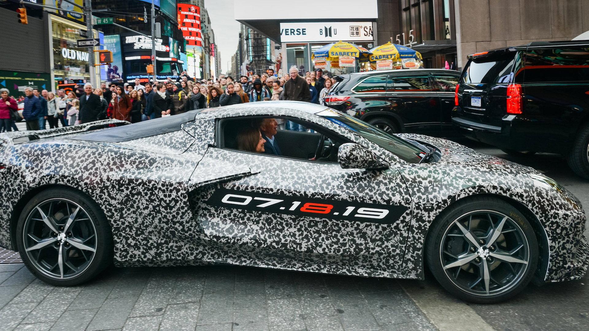 c8 corvette reveal event