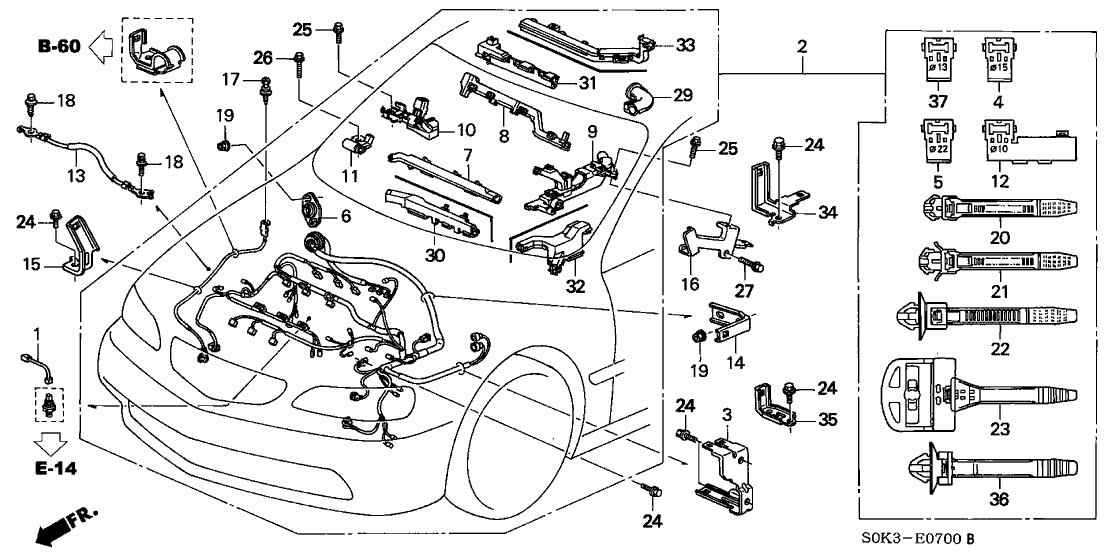 1999 acura 3.2 tl engine diagram