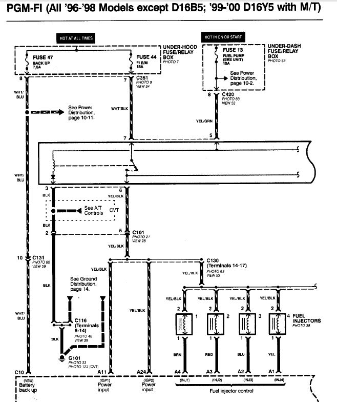 D16y8 Wiring Harness Diagram Wiring Schematic Diagram