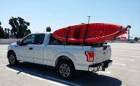 Truck Bed Kayak Rack - White Bed