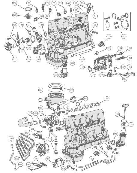 300d engine diagram