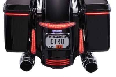 The All New Tail Light & License Plate Holder - Harley Davidson Forums