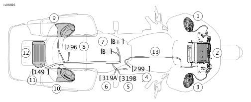 harley boom audio amp wiring diagram