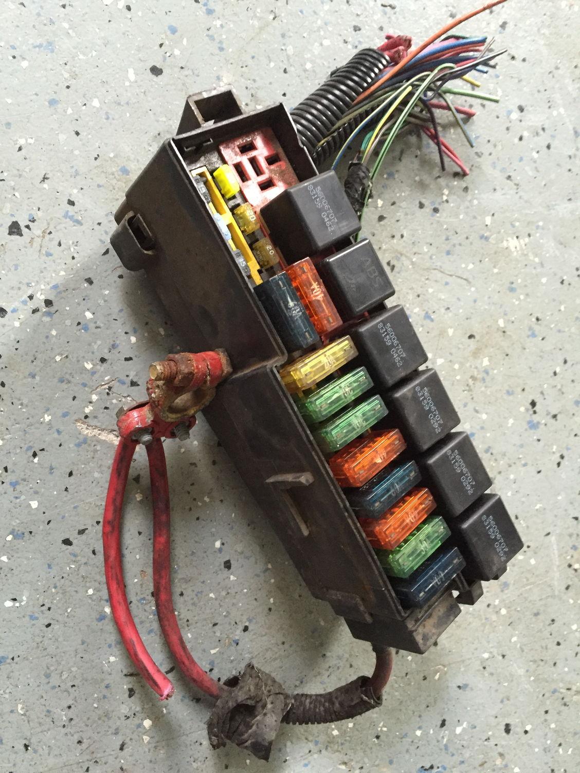 Dynamite Fuse Box | Wiring Schematic Diagram