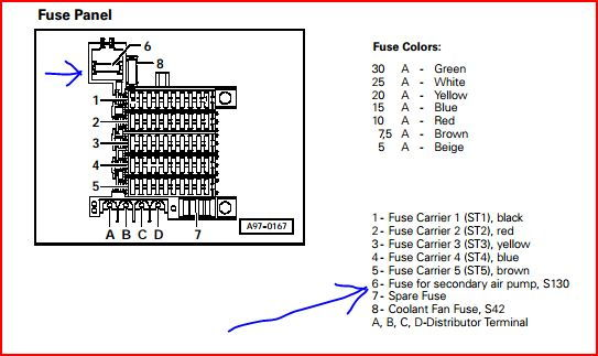 fuse and relay diagram audi a4 b7