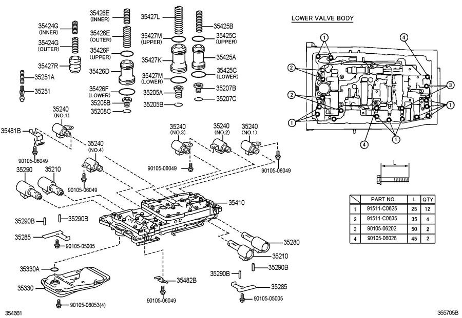 1992 lexus ls400 alternator diagram