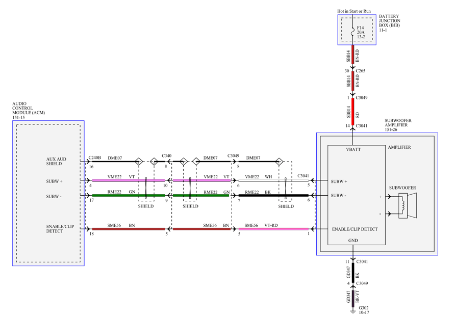 wiring harness for audiophile sub help