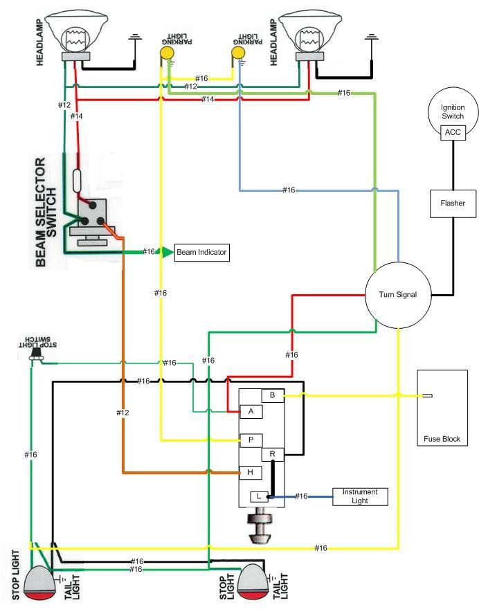 1953 Ford Turn Signal Wiring Diagram - Diagram Schematics