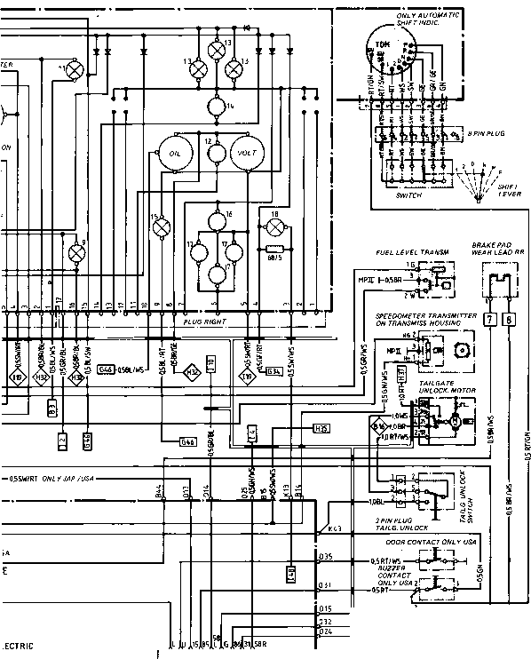 1987 porsche 911 fuse box diagram