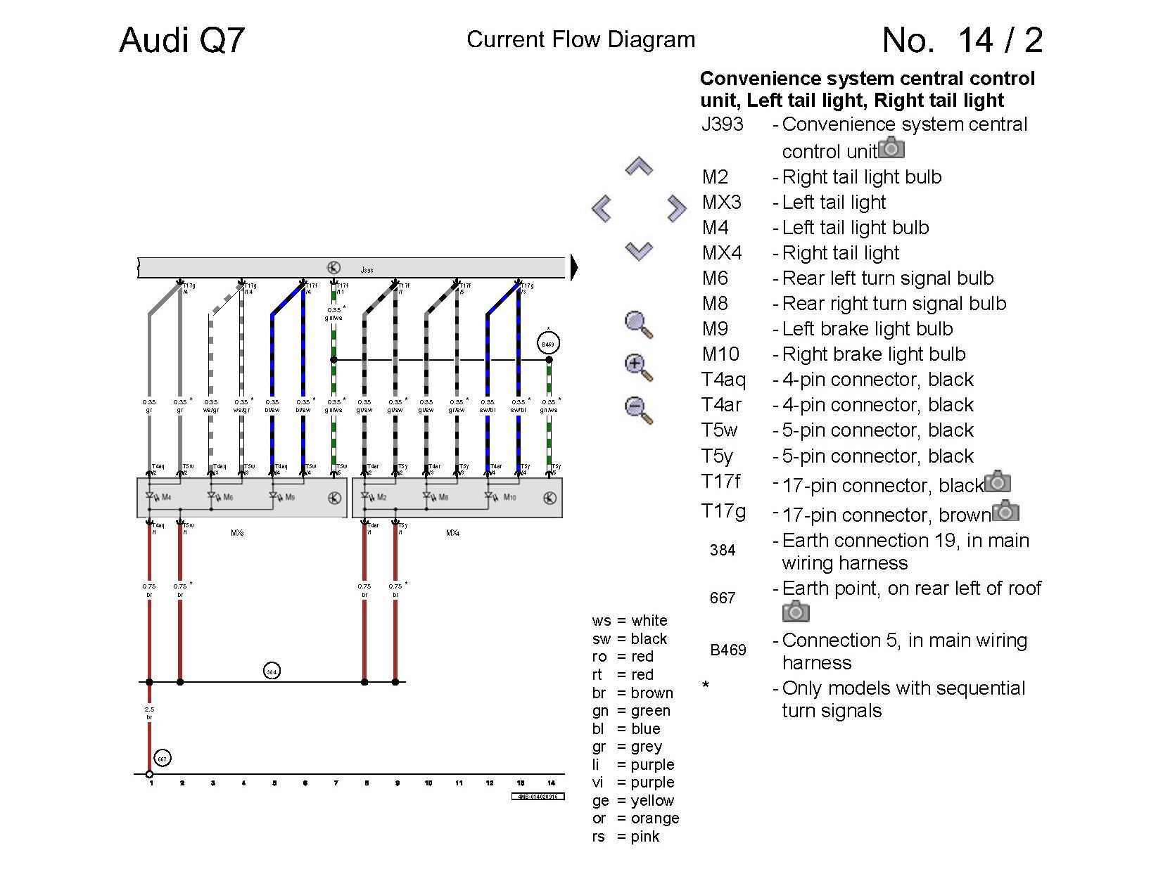 Audi Tt Seat Wire Diagram Auto Electrical Wiring Q7 22 Images